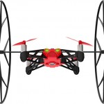 Parrot – MiniDrone Rolling Spider, color rojo (PF723002AA)
