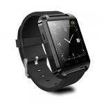 U8 U Watch Bluetooth Smart Watch WristWatch for iPhone 4/4S/5/5S Samsung S4/Note 2/Note 3 HTC Android Phone Smartphones Black