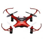 Coocheer JJRC H22 Mini Drone Double-sided Inverted Flight RC Quadcopter Red by COOCHEER