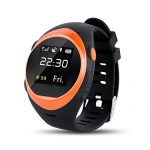 ZGPAX S888A Smart Watch Newest WiFi GPS Smartwatch for Kids Elderly Safety Watch,Smartwatch Phone with SIM Calls Anti-Lost GPS Tracker Smart Watch for Android/iOS (Orange)