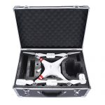 Bolso for DJI Phantom 3 Standard Carrying Case Aluminum Hard Travel Box Professional Advanced for Drone DJI Phantom 4 Accesorios Quadcopter by Crazepony-UK en oferta