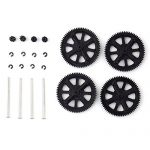 For Parrot AR Drone 2.0 Spare Parts Pinion Gear Gears Shaft Replacement Kit Set