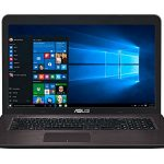 ASUS VivoBook K756UV-TY370T – Ordenador portátil de 17.3″ HD+ (Intel Core i7-7500U, 16 GB de RAM, HDD de 1 TB, Nvidia GeForce GT920MX, Windows 10 Original) marrón Oscuro – Teclado QWERTY español